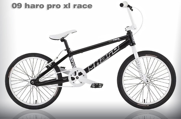 2009 HARO PRO XL RACE - Gloss Black