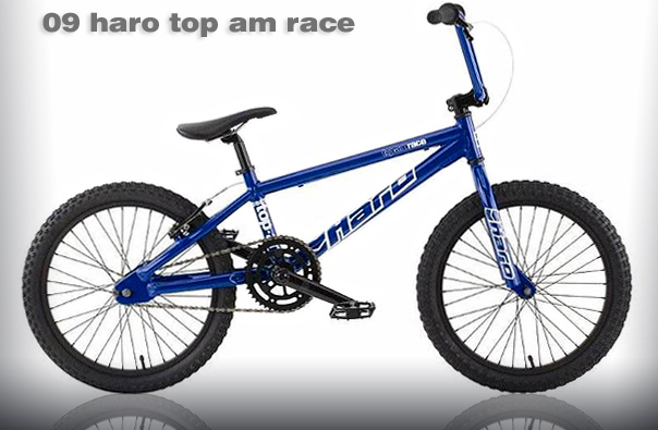 2009 HARO TOP AM RACE - Blue