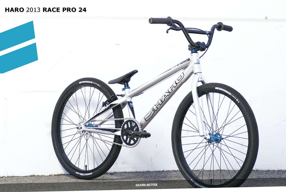 pin 2013 haro bmx race pro 24 silver on pinterest. Black Bedroom Furniture Sets. Home Design Ideas