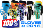 NEW 2016 100% GLOVES / HANDSCHUHE